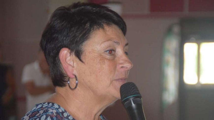 Odile Laffite, vice présidente du Conseil Départemental des Landes.