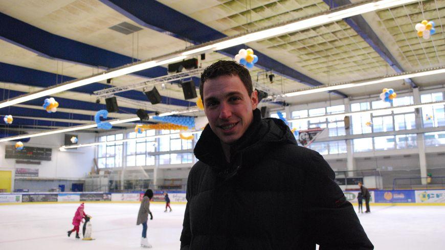 Bruno Massot (ici à la patinoire de Caen)