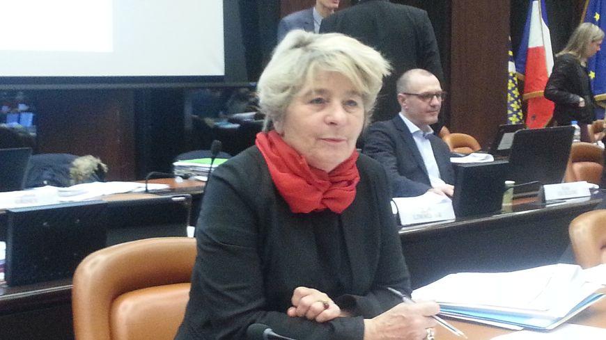 Marie-Guite Dufay la présidente de la région Bourgogne-Franche-Comté