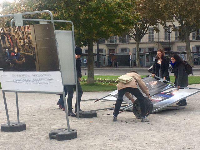 Exposition à Grenoble