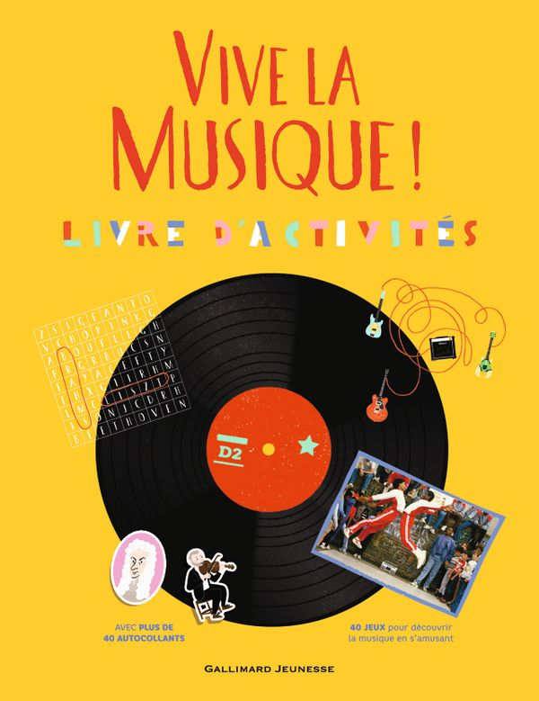 Vive la Musique/Gallimard Jeunesse