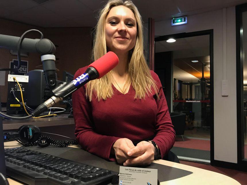 Marine Gatineau : la présidente des Férus de Voile et Moteur à Palavas-les-Flots, skipper de l'équipage féminin des Voiles & Femmes