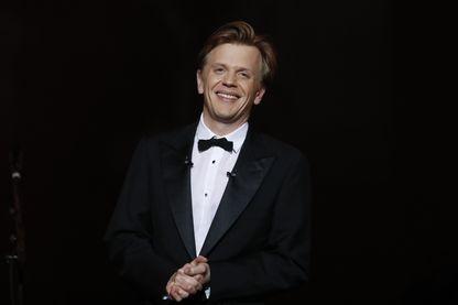 Alex Lutz, cérémonies des Molières aux Folies Bergères - Mai 2016