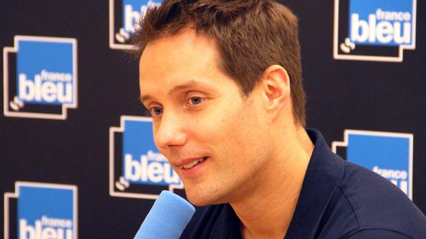 Thomas Pesquet au micro de France Bleu