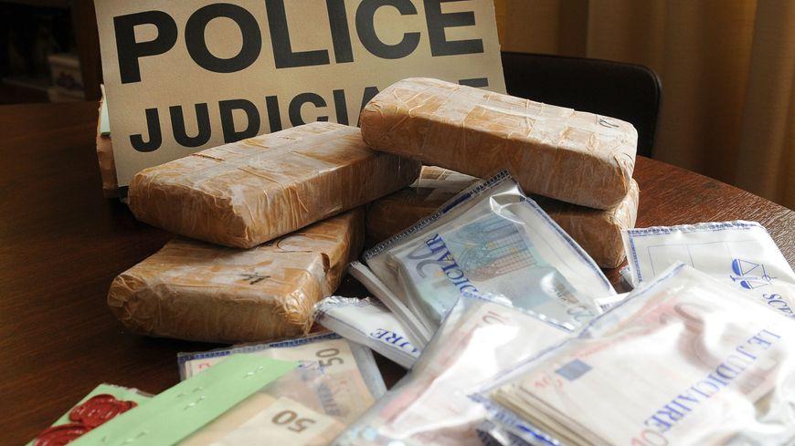 Une saisie de drogue de la police (illustration)