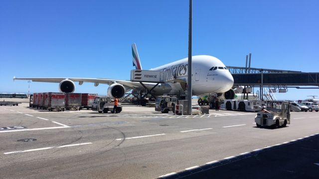 Le tarmac de l'aéroport de Nice.