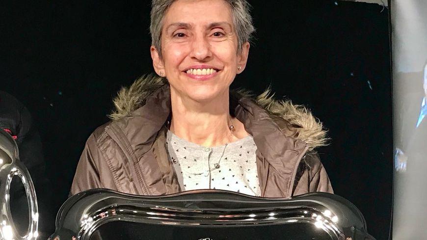 Bernadette remporte la 30ème édition de la meilleure omelette aux truffes.