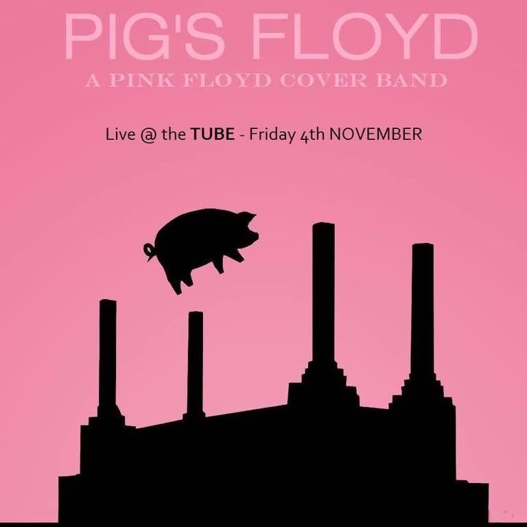 Affiche concert des Pig's Floyd