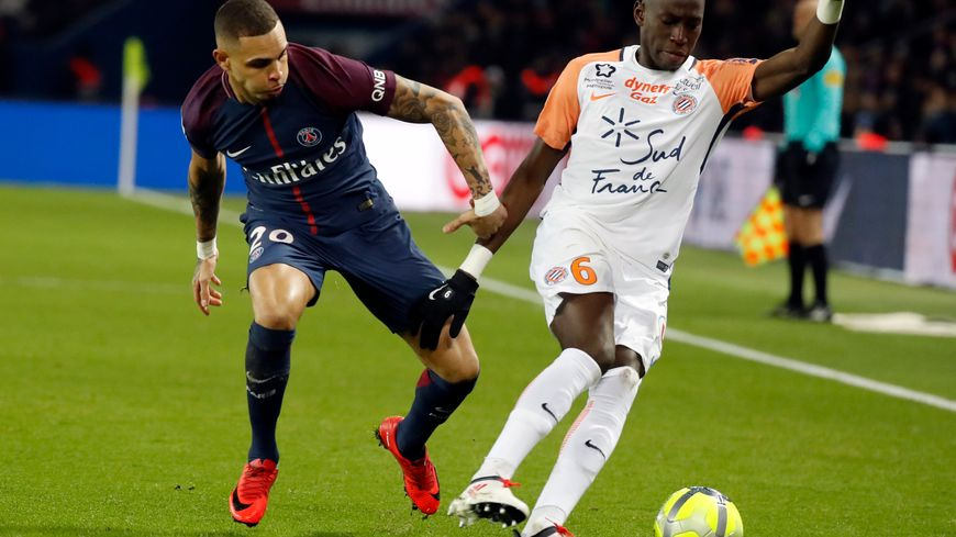 Les footballeurs montpelliérains n'ont rien pu faire contre le PSG