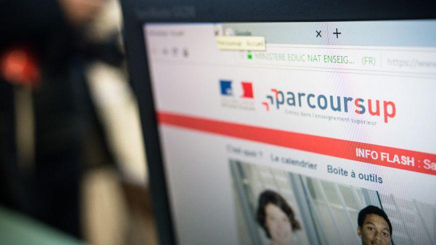 Abaoe dilun eo digor al lec'hienn internet Parcoursup