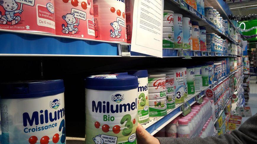 Des produits Lactalis contaminés ont été vendus par plusieurs enseignes en France