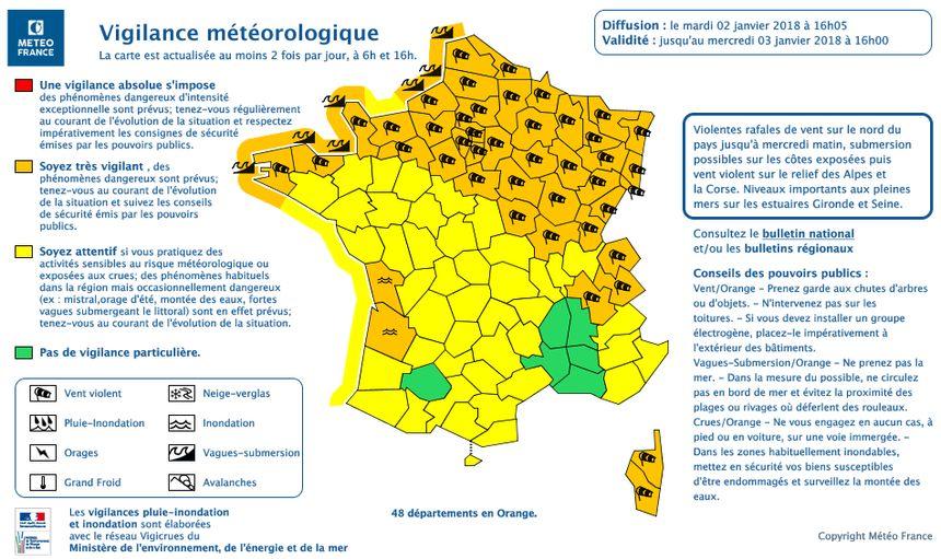 Les vents en Pays de Savoie devraient se renforcer ce mercredi matin.