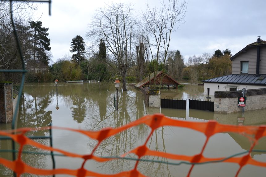 150 foyers sont impactés par la crue de la Seine à Villenne-sur-Seine
