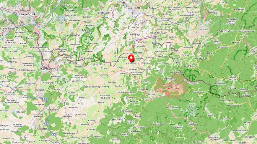 La commune de Volmunster en Moselle