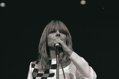 France Gall en concert en 1982