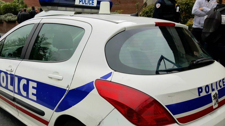 Une voiture de police à Bobigny (illustration)