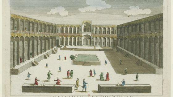 Le Caravan Seray de Kāchān (Iran) 1750