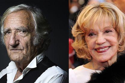 Serge Rezvani et Jeanne Moreau