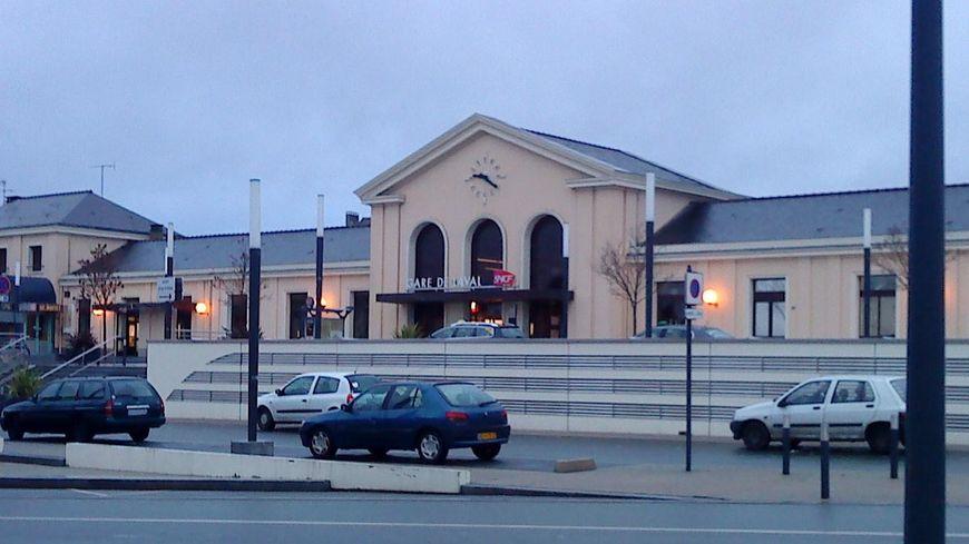 La gare de Laval (capture écran)
