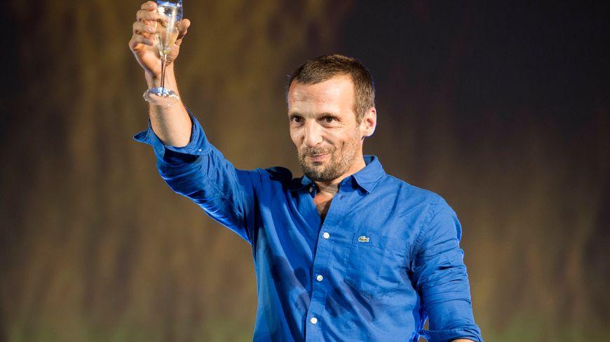 Mathieu Kassovitz lors du festival de Locarno