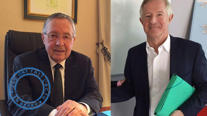 Serge Descout (à gauche) et Dominique Roullet (à droite)