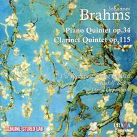 Quintette pour quatuor à cordes et clarinette en si min op 115 : 3. Andantino- Presto non assai ma con sentimento