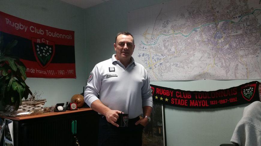 Christophe Brecq, le numéro 2 de la police de Brive, est un Toulonnais pure souche
