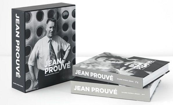 """Couverture du coffret """"Jean Prouvé"""""""
