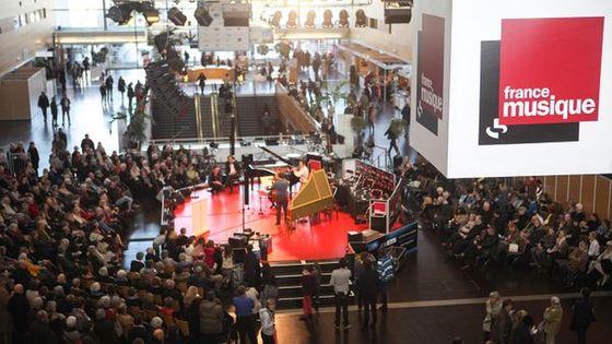 Retrouvez France Musique en direct et en public de la Folle Journée de Nantes les 2 et 3 février