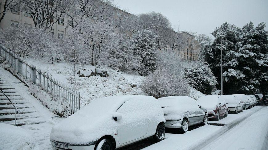 La neige arrive en Lozère