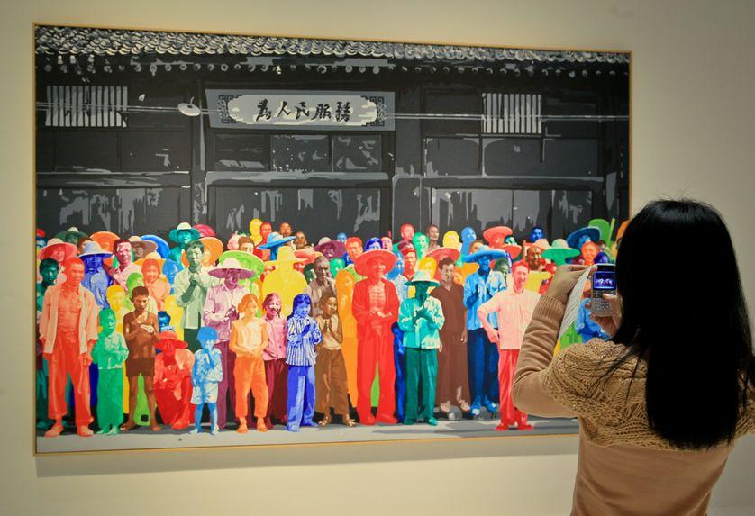 Une exposition du centre Pompidou avait été exportée au Musée des arts de Chine (Shanghai) en décembre 2012