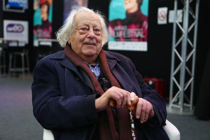 Jean Douchet, critique et historien du cinéma, dans le cadre de l Arras film festival le 10 novembre 2017.