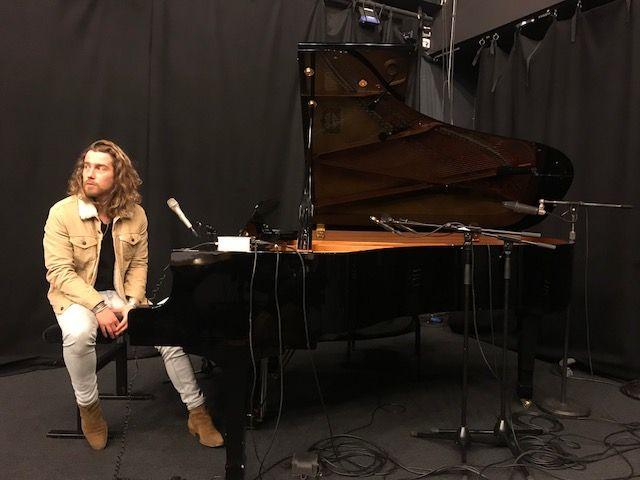 Julien Doré à France Culture le 18 janvier 2018