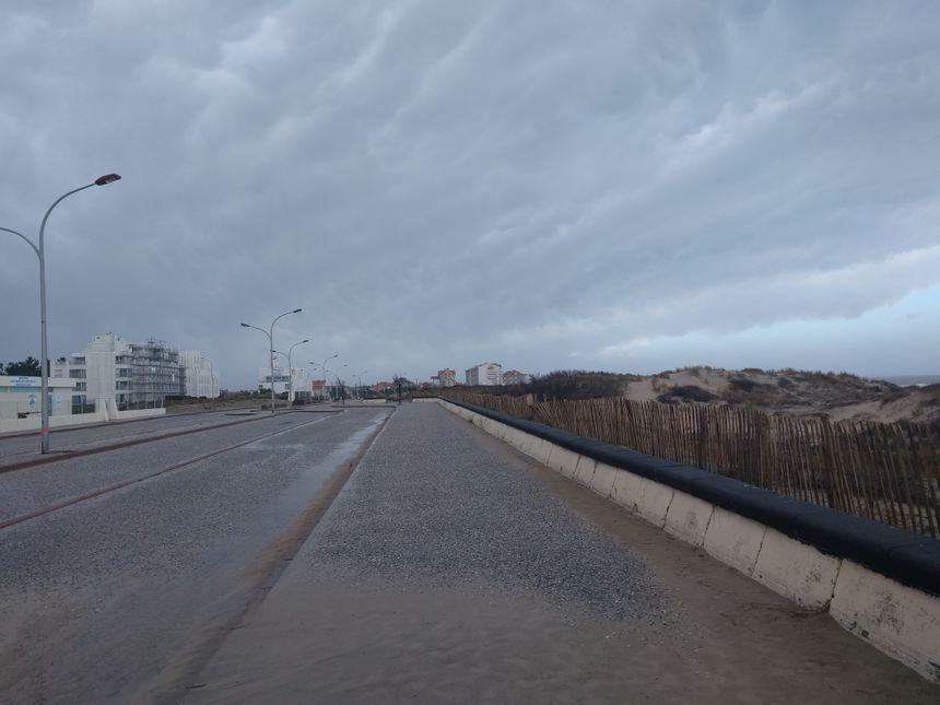 le front de mer à Soulac