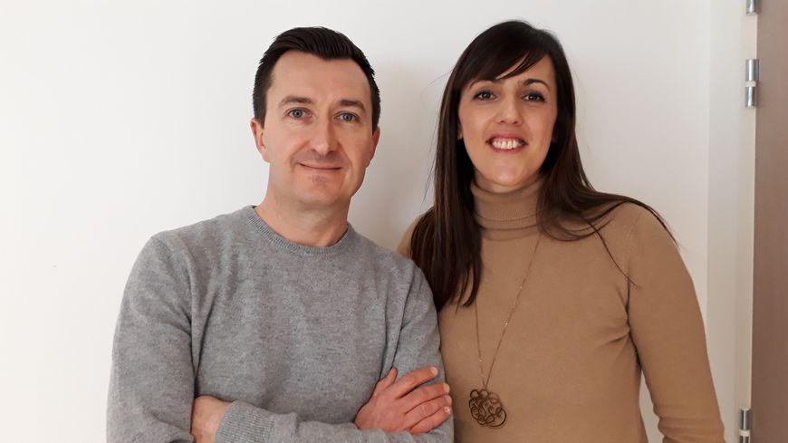 Sandra et Florent Bardisa ont créé la marque Le Pull Français
