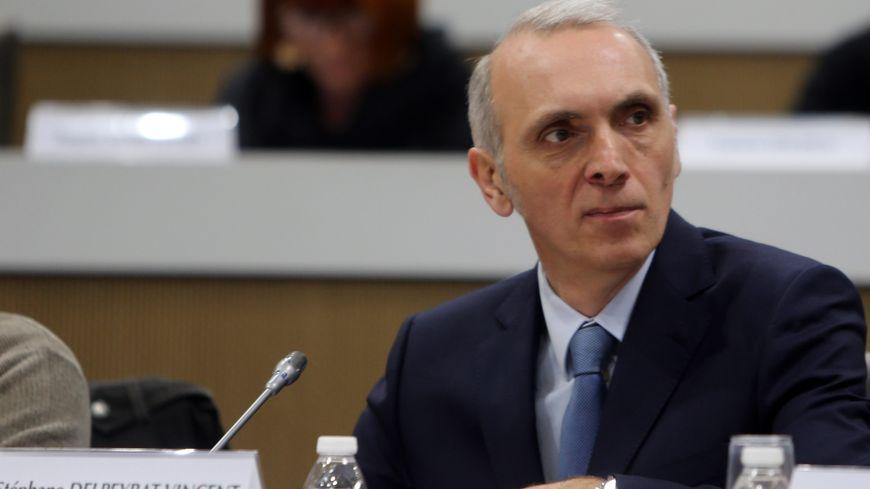 Stéphane Delpeyrat-Vincent, au Conseil régional de Nouvelle Aquitaine