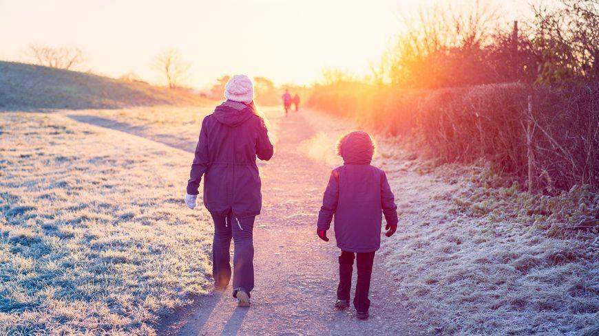 Marcher en famille