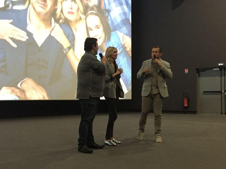L'équipe du film a échangé un quart d'heure avec les spectateurs présents.