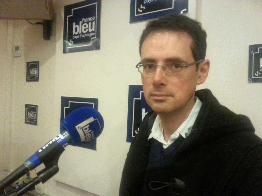 Maître Sylvain Gauché, avocat du détenu de Moulins-Yzeure qui a déposé un recours en justice pour dénoncer les conséquences du mouvement des surveillants de prisons.