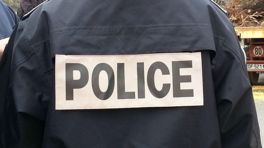Un policier - illustration