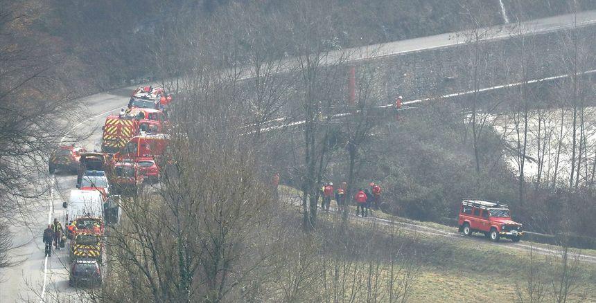 Les lieux où le corps du pompier volontaire savpoyard a été retrouvé vendredi