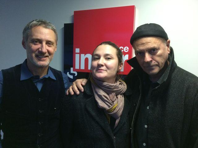 Antoine, Charline et Enki Bilal
