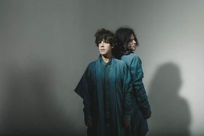Le duo tUnE-yArDs à l'occasion de la sortie de son nouvel album 'I can feel you creep into my private life'.