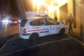 Police à Marseille la nuit