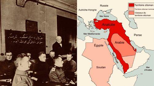 Crises d'Orient : le Moyen-Orient à partir de 1914 (2/12) : Vers la fin de l'Empire ottoman