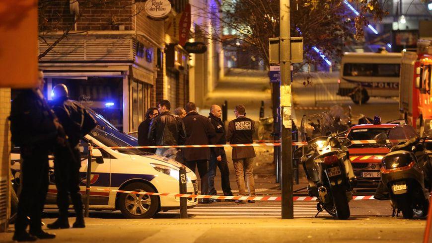 Les attentats du 13 novembre à Paris.