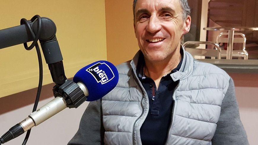 Thierry Bourguignon au micro de France Bleu Vaucluse