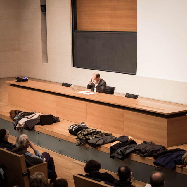 Patrick Boucheron au Collège de France
