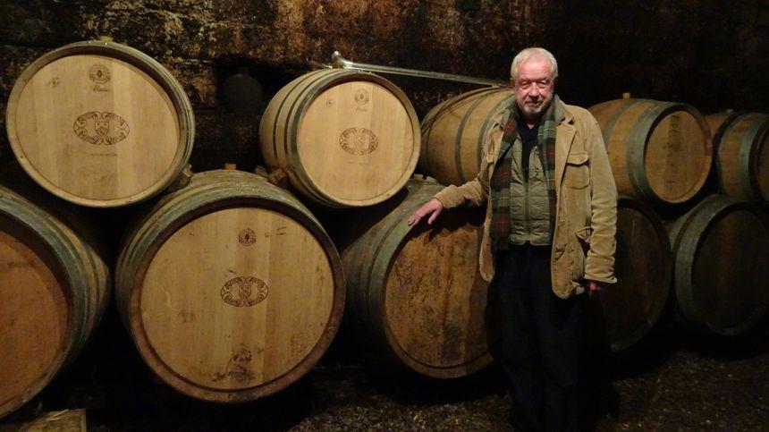 Jean-Louis Bersan et son fils Jean-Christophe produisent du vin Bio à Saint-Bris