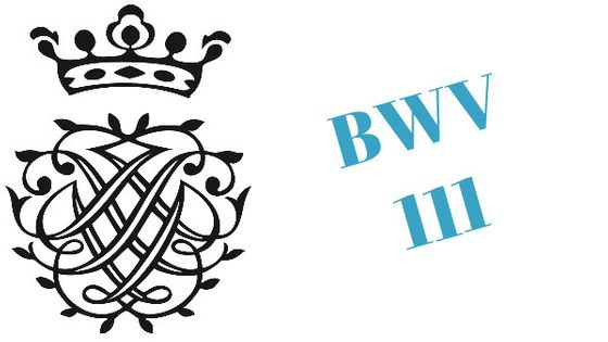 Monogramme de Bach / BWV 111